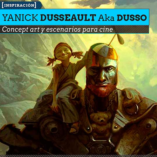 Concept art de YANICK DUSSEAULT Aka DUSSO