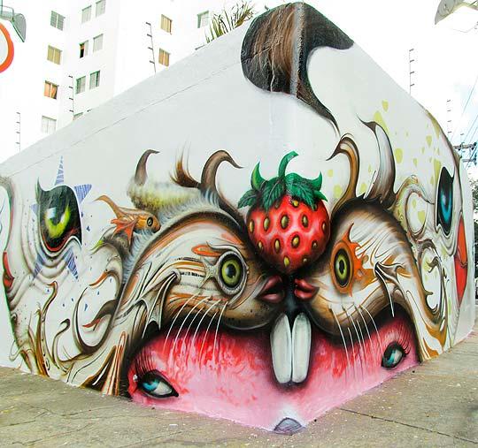 Arte urbano de ANDRE MUNIZ GONZAGA.