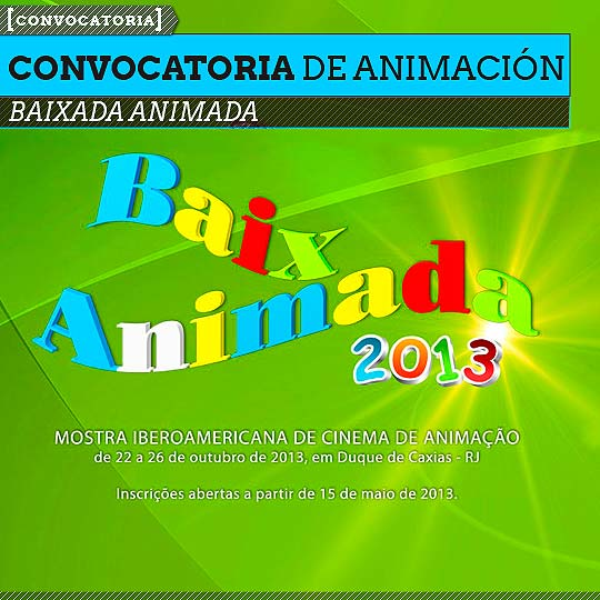 Convocatoria de Animación. BAIXADA ANIMADA 2013.