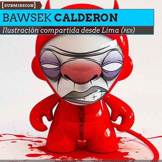 Ilustración de BAWSEK CALDERON.