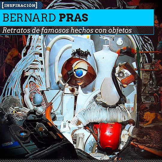Retratos de BERNARD PRAS.