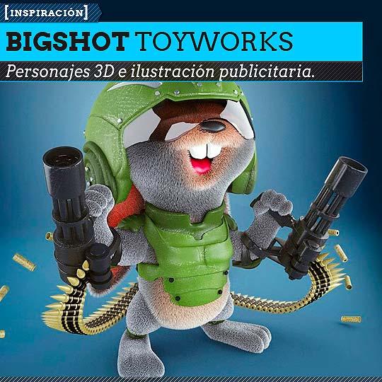 Ilustración de BIGSHOT TOYWORKS.