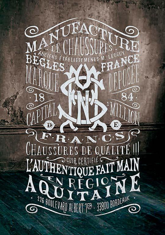 Ilustración y caligrafía de BMD DESIGN.