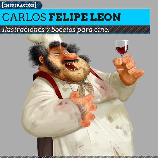 Ilustración de CARLOS FELIPE LEON.
