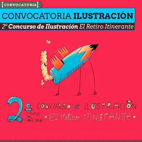 Convocatoria. Concurso de Ilustración El Retiro.