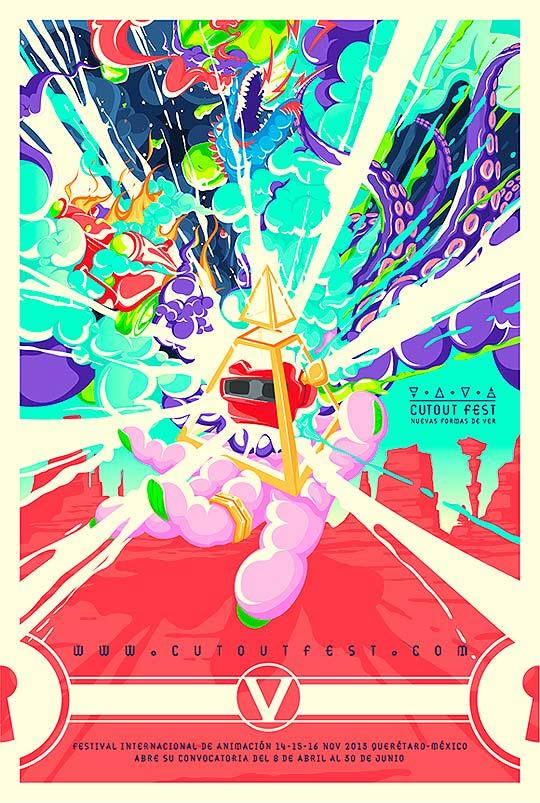 Convocatoria de Cortos Animados. CutOut Fest 2013.