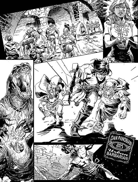 Comic de DAN PANOSIAN
