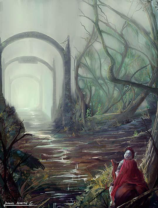 Concept art de DANIEL ALARCON Aka Silverkeeper.