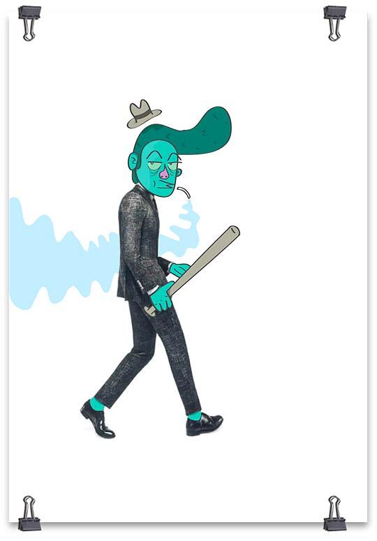 Ilustración de DANIEL MARTÍNEZ G