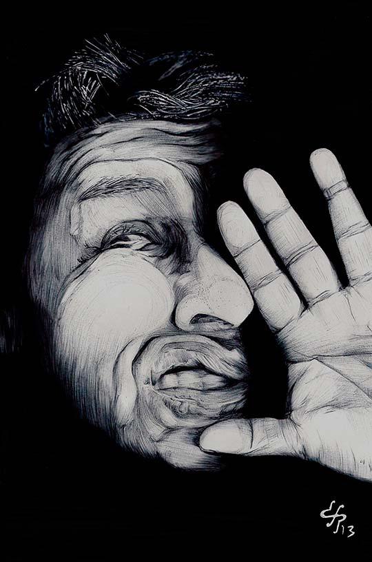 Dibujo de DAVID PÉREZ.
