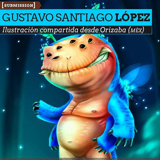Ilustración de GUSTAVO SANTIAGO Boreck
