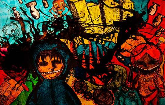 Ilustración de GUSTAVO WENZEL Aka Tatows
