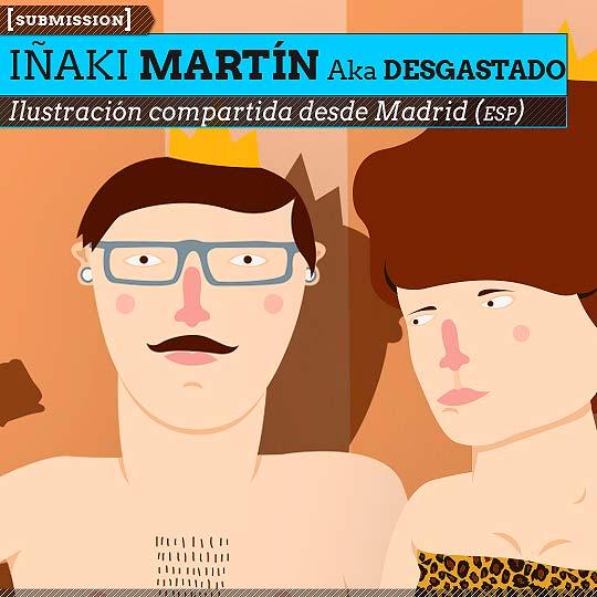 Ilustración de IÑAKI MARTÍN Aka Desgastado