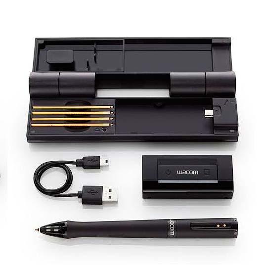 Primeros trazos con el lápiz Inkling de Wacom