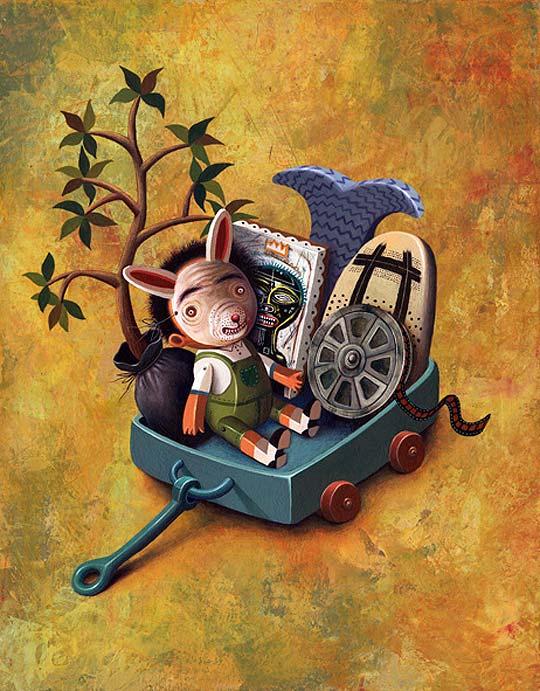 Ilustración de ISRAEL BARRÓN.