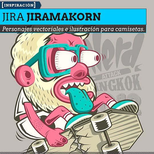 Ilustración de JIRA JIRAMAKORN.