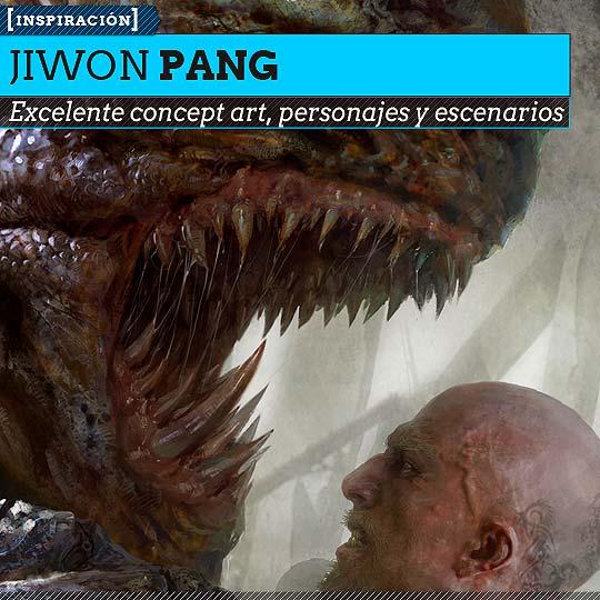 Concept art de JIWON PANG.
