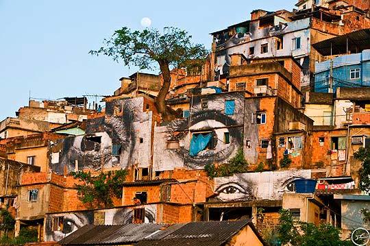 Arte urbano de JR