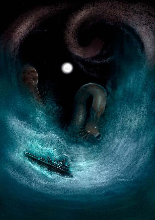 Ilustración de LEONARDO SÁNCHEZ Aka Espectral.