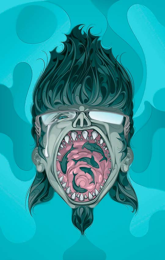 Ilustración de MAN-TSUN.