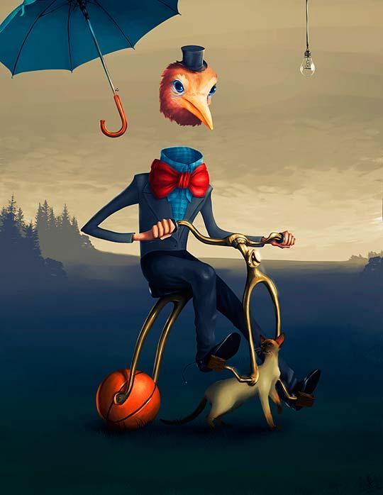 Ilustración de MARC ROBINSON Aka Marosteeha