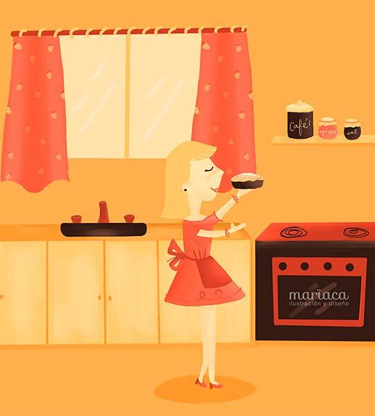 Ilustración de MARÍA AGUDELO.