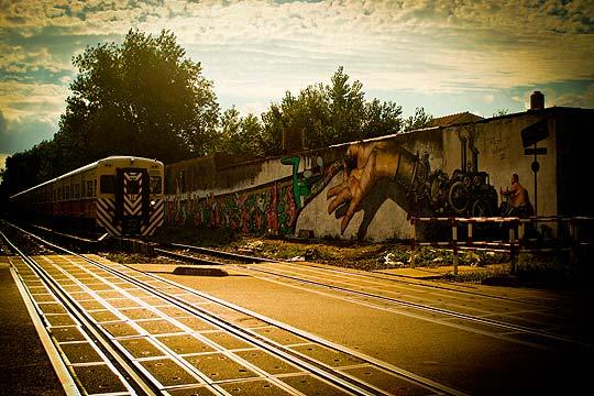 Arte urbano de MARTIN RON