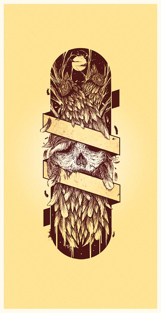 Ilustración de MATEO RIOS.