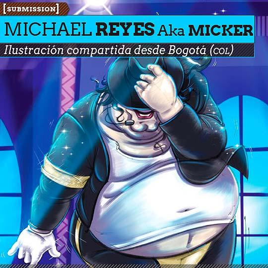 Ilustración de MICHAEL REYES Aka MickeR.
