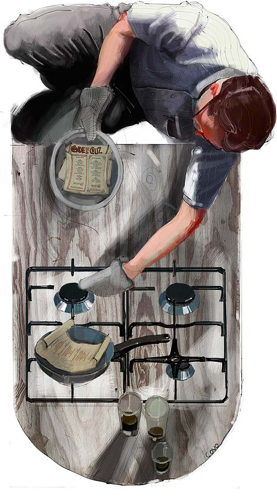 Ilustración de PEDRO COVO