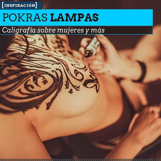 Caligrafía de POKRAS LAMPAS