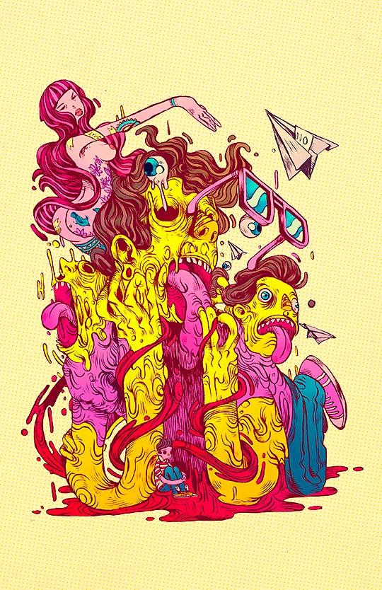 Ilustración de RAUL URIAS.