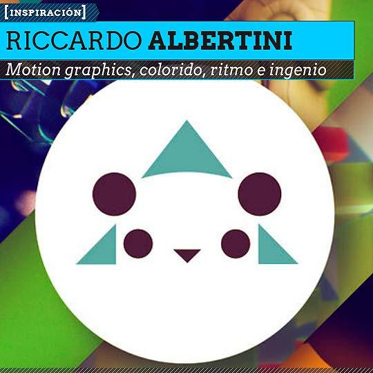 Motion graphics de RICCARDO ALBERTINI.
