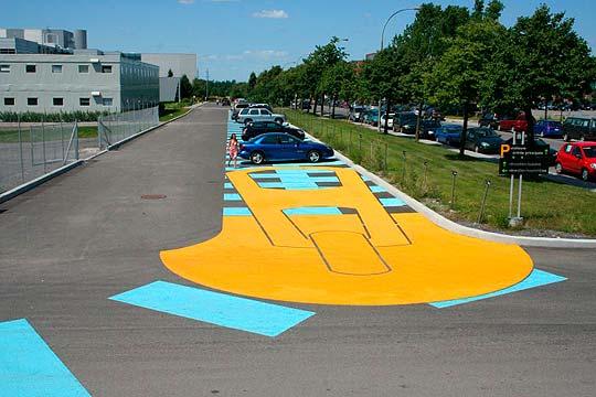 Arte urbano de ROADSWORTH.