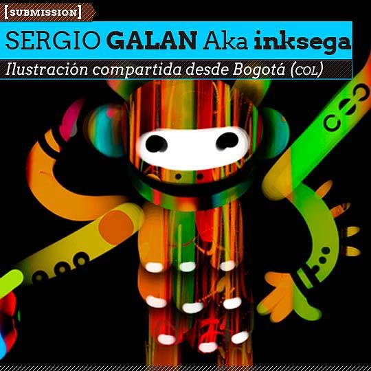 Ilustración. Personajes de SERGIO GALAN Aka Inksega.