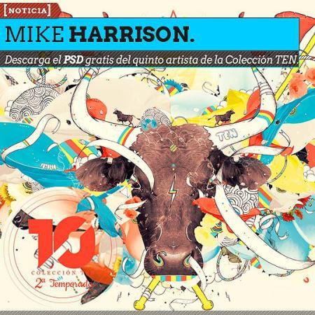Quinto PSD descargable de la ColecciónTEN. MIKE HARRISON.