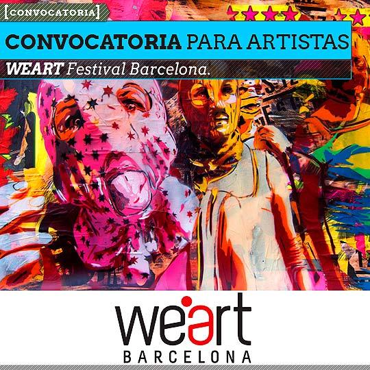 Festival de Arte. WEART Festival Barcelona.