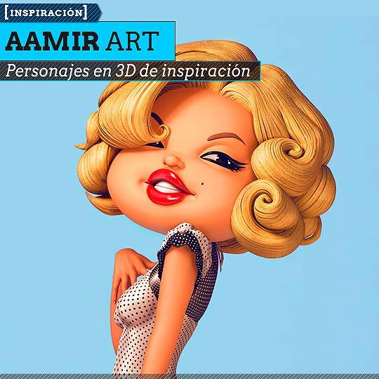 3D de AAMIR ART