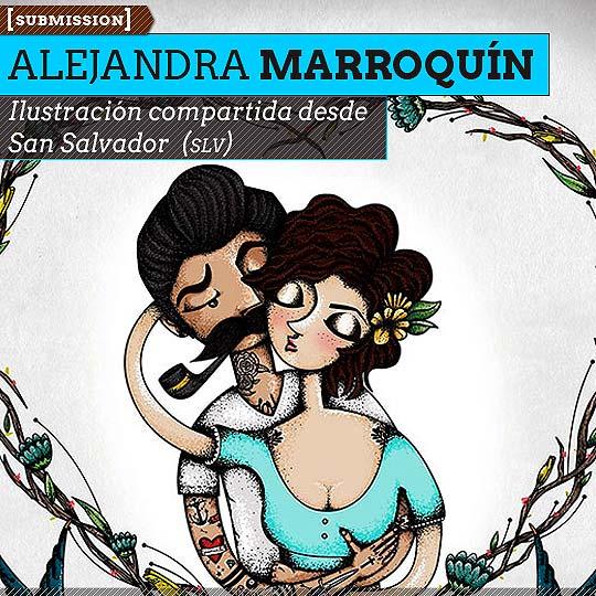 Ilustración de ALEJANDRA MARROQUÍN