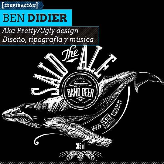 Caligrafía de BEN DIDIER