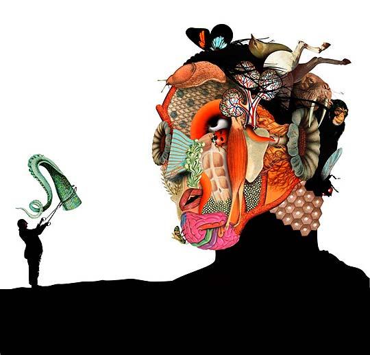 Ilustración de BRETT RYDER