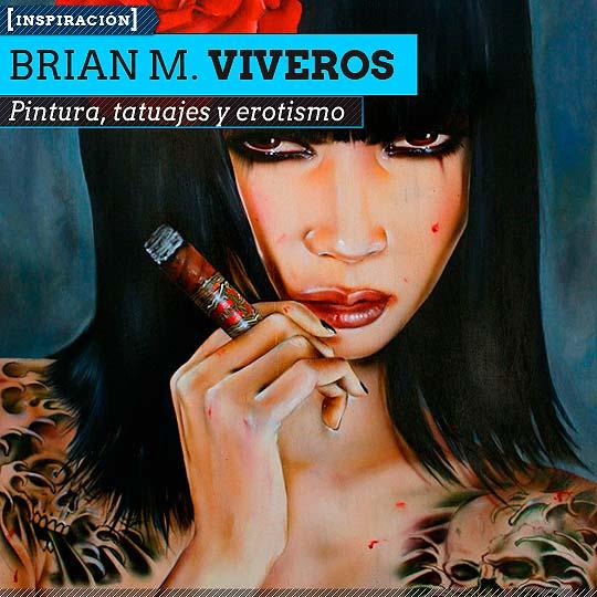 Pintura de BRIAN M. VIVEROS.