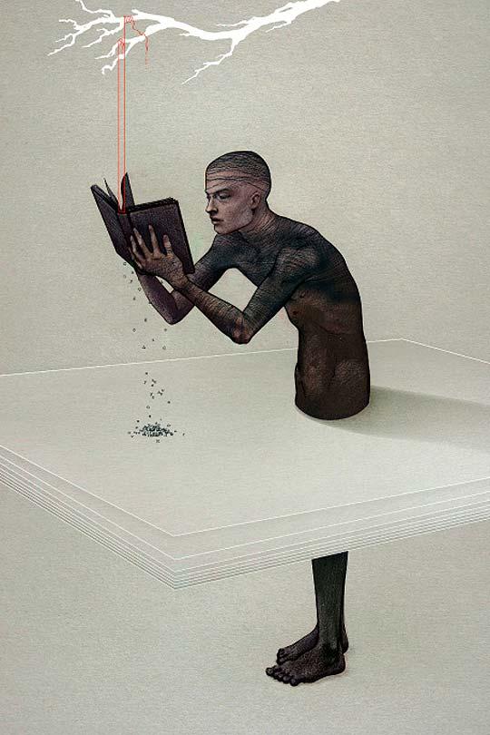 Ilustración de BRUNO VERGAUWEN