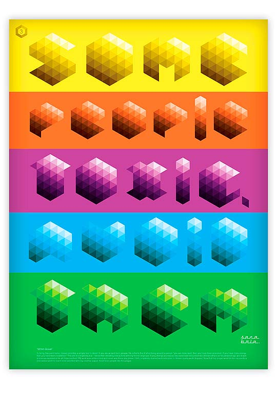 Carteles tipográficos de CARLOS SANABRIA.