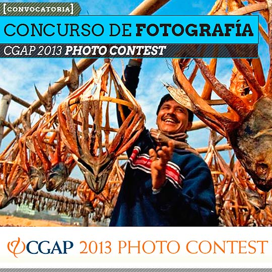 Concurso de fotografía. CGAP 2013 PHOTO CONTEST.