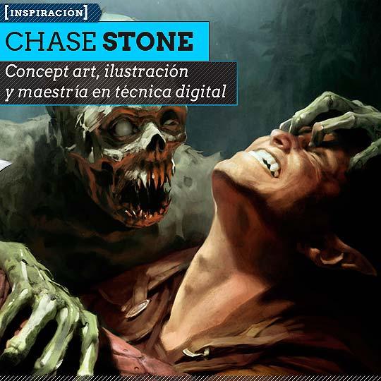Concept art de CHASE STONE