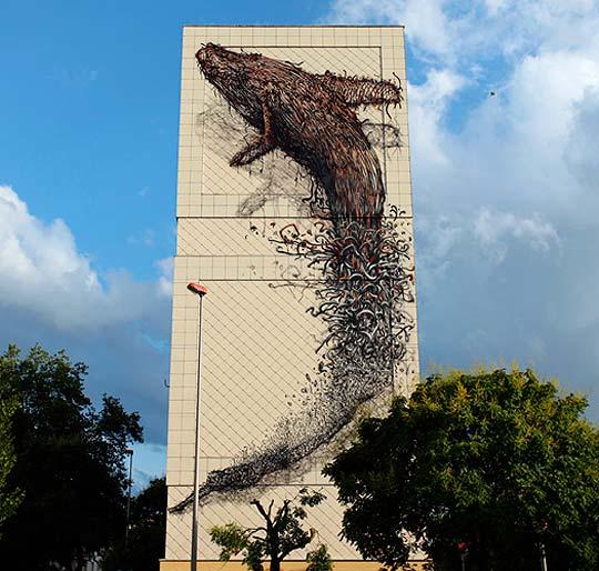 Arte urbano de DALeast