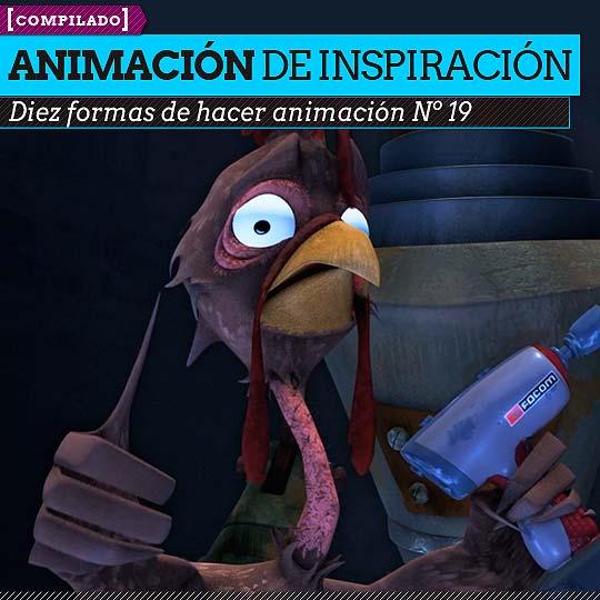 Animación. Diez formas de hacer animación Nº 19.