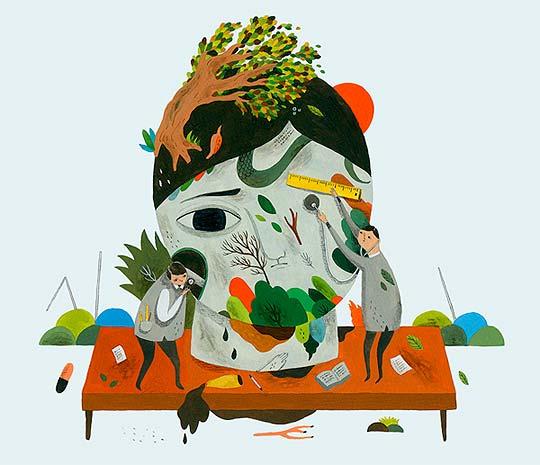 Ilustración de INCA PAN
