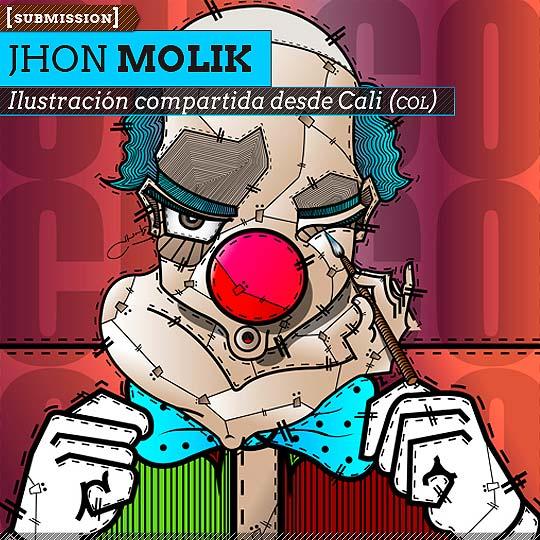 Ilustración de JHON MOLIK